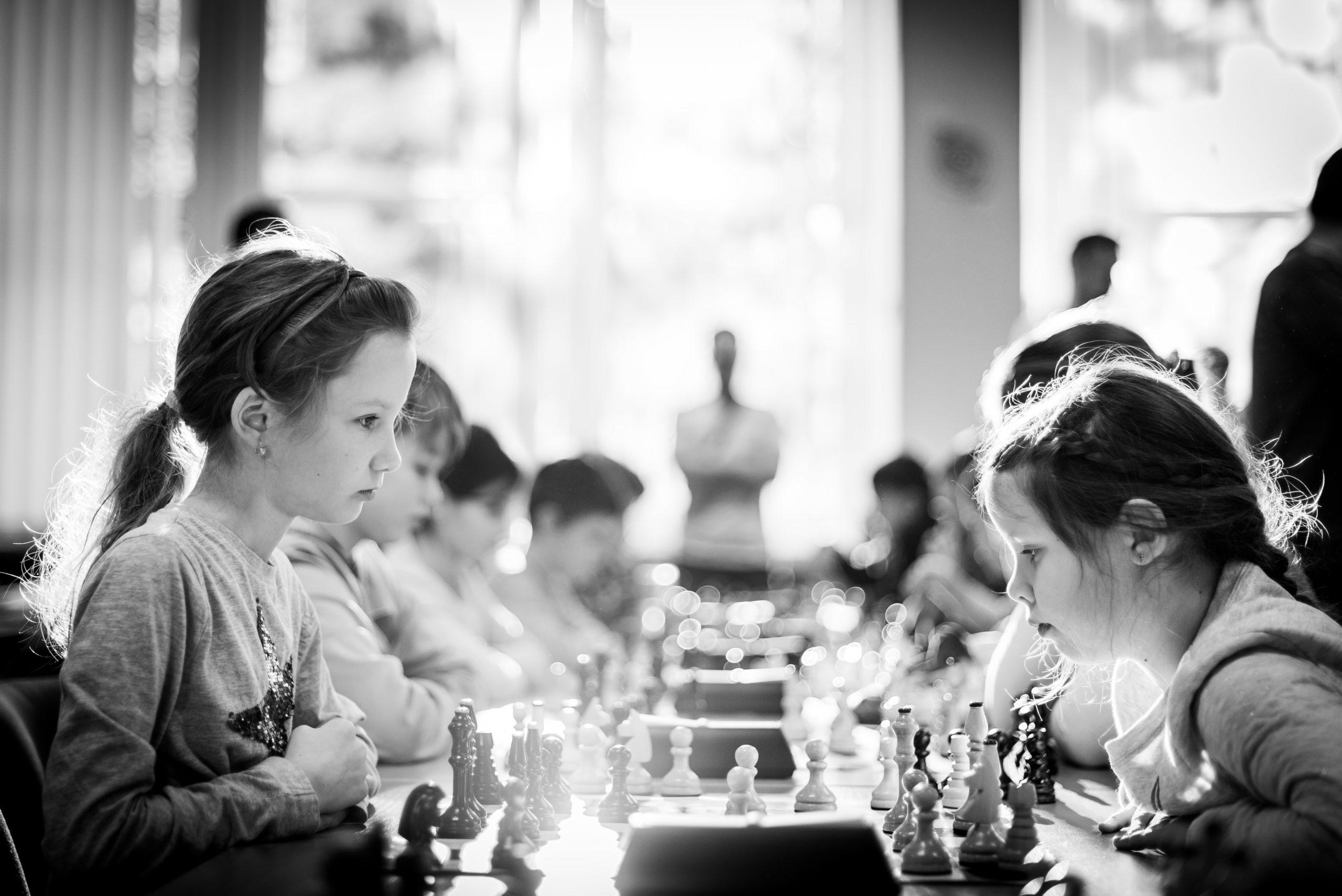 Adhésion totale des élèves  au jeu d'échecs